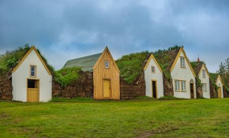 folk village: Traditional Icelandic turf houses, Glaumbaer museum