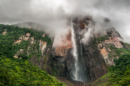 Angel Falls, the world's highest waterfall, Venezuela