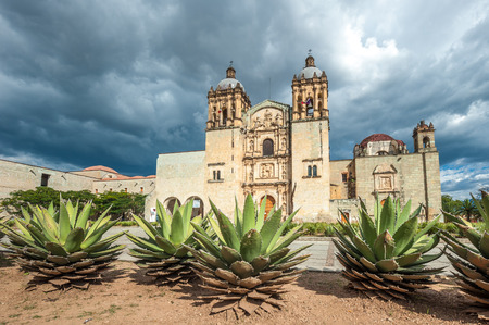 colonial church: Church of Santo Domingo de Guzman in Oaxaca, Mexico