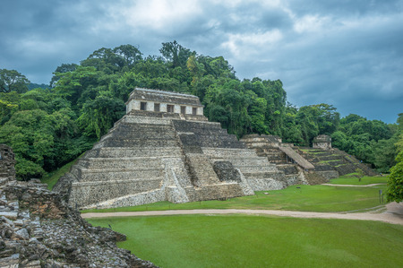 Ruins of Palenque, Mexico photo