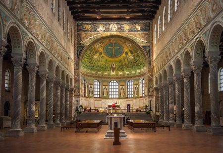 ravenna: Basilica of Saint Apollinaris in Classe, Emilia-Romagna, Italy