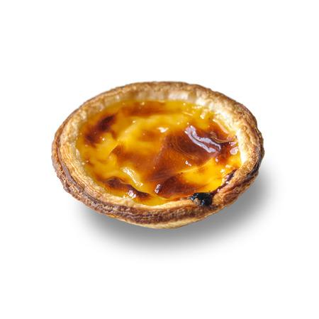 nata: Pastel de nata, traditional Portuguese egg tart pastry