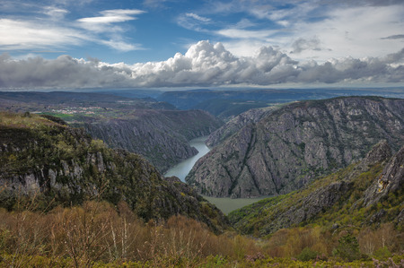 sil: Canyon de Rio Sil in Galicia, Spain