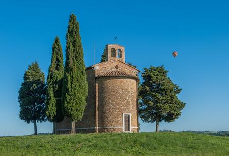 cappella: Vista toscano esc�nica, Cappella della Madonna di Vitaleta