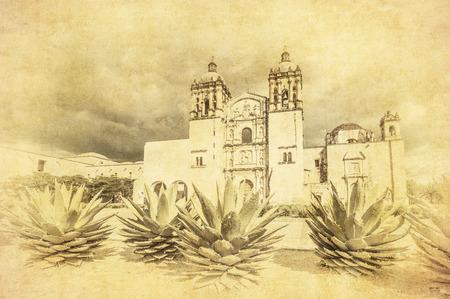 oaxaca: Church of Santo Domingo de Guzman in Oaxaca, Mexico