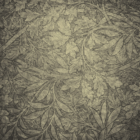 flores vintage: highly detailed image of grunge vintage wallpaper Stock Photo