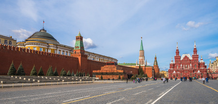 mausoleum: Red Square in Moscow, Russian Federation