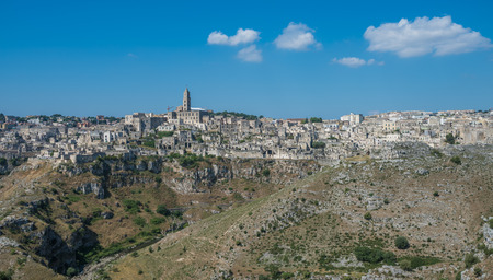 matera: Ancient town of Matera (Sassi di Matera), Basilicata, Italy