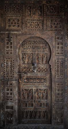 wood door: Ancient doors, Morocco