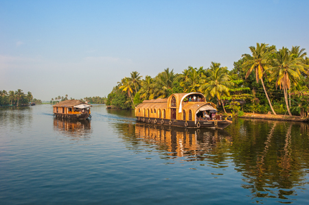 Backwaters of Kerala, India
