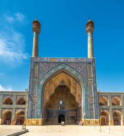 isfahan: Jameh or Friday Mosque of Isfahan, Iran Stock Photo