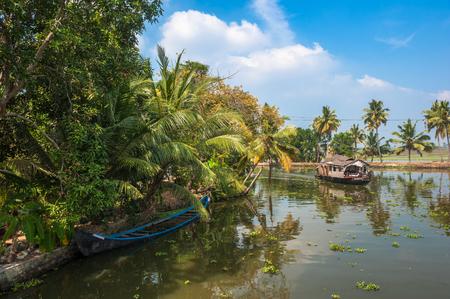 backwaters: Backwaters of Kerala, India