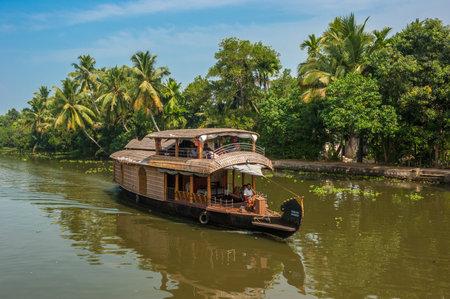 kerala backwaters: Backwaters of Kerala, India
