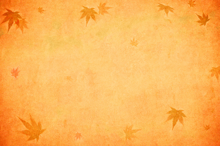 autumn leaves background: grunge background with autumn leaves