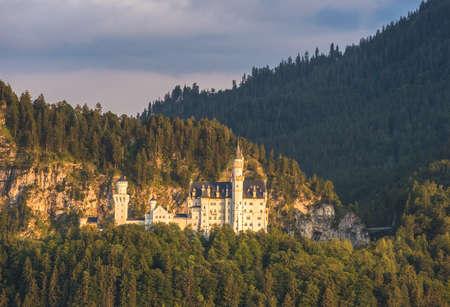 neuschwanstein: Neuschwanstein castle, Bavaria, Germany Editorial