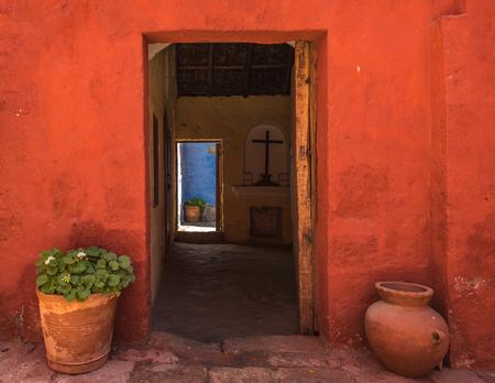 monastery nature: Santa Catalina Monastery, Arequipa, Peru