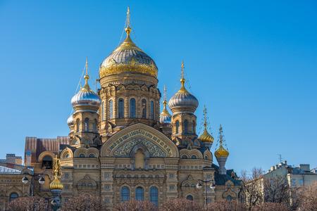 Eglise de la Dormition à Saint-Pétersbourg, Russie