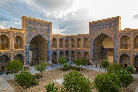 registan: Ulugh Beg Madrasah, Registan, Samarkand, Uzbekistan