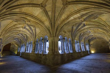 monasteri: Monastero di Santo Estevo de Ribas de Sil in Galizia, Spagna
