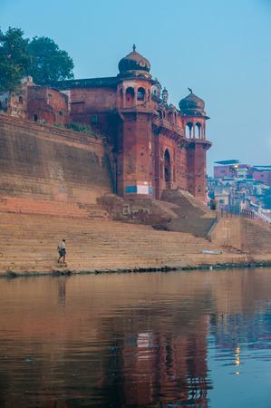 varanasi: Holy city of Varanasi, India