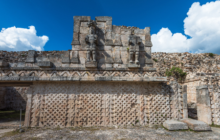 Kabah, Maya archaeological site, Puuc road, Yucatan, Mexico