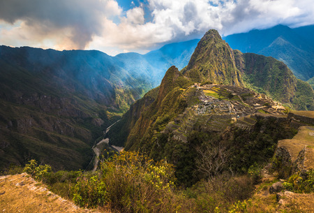 Machu Picchu, One of the New Seven Wonders of the World.