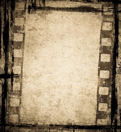 fond de film grunge avec un espace pour le texte ou l'image