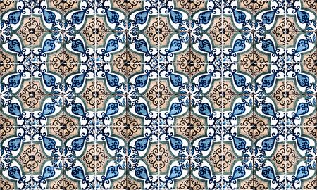 Hintergrund von Vintage-Keramikfliesen