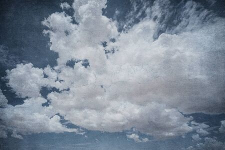 Grunge image of dramatic cloudy sky. Perfect halloween background. Stock fotó