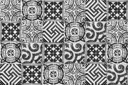 Background of vintage ceramic tiles Archivio Fotografico