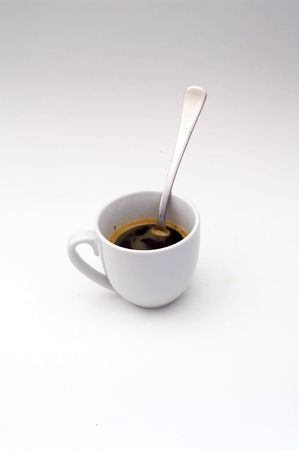 capacino: Cup of cofee Stock Photo