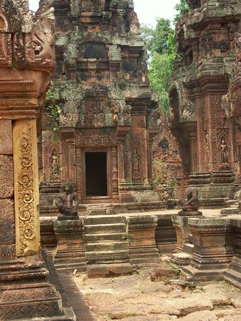Cambodia temples - angkor wat - tourist site photo