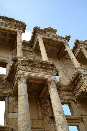 ancient ruins in Ephesus, Turkey