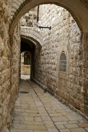 via dolorosa - the last  way in jerusalem