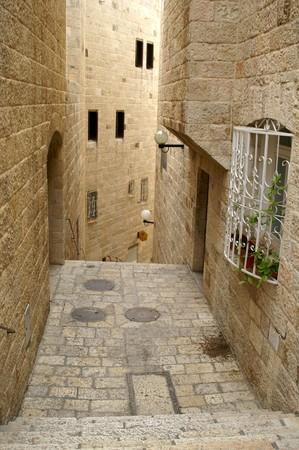 Via dolorosa - ostatni sposób w Jerozolimskie  Zdjęcie Seryjne