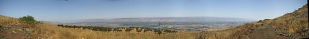 Mountains and nature in Galilee, Israel - travel vacation in  Middle East