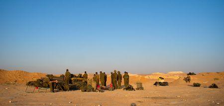 exersice: israeli soldiers attacks - war againist terror Stock Photo