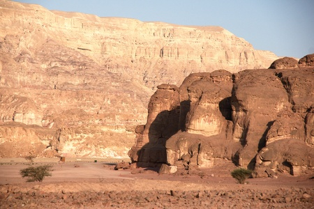 timna: Timna geological park for tourists in Israel