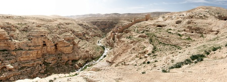 hermits: travel at spring in judean desert for hermits caves and monk monastery