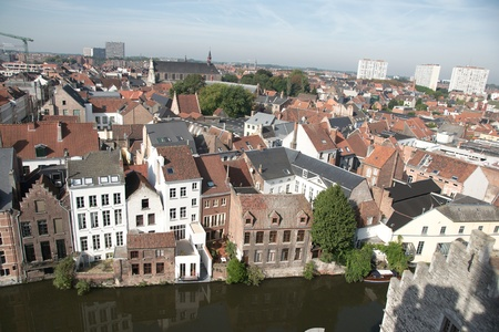 Ghent castle - tourism attraction i europe photo