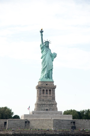 Statue of Liberty - the symbol of america and new york attraction