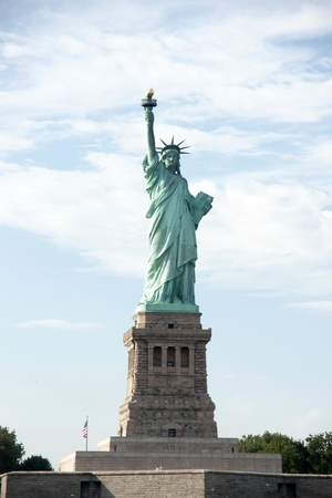 liberty: Statue of Liberty - the symbol of america and new york attraction