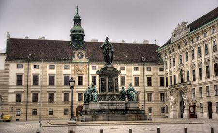 hofburg: Palais imp�rial � Vienne Banque d'images