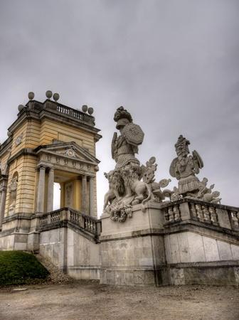 Belveder palace autumn travel europe tourism photo