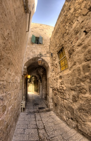 old jerusalem streets