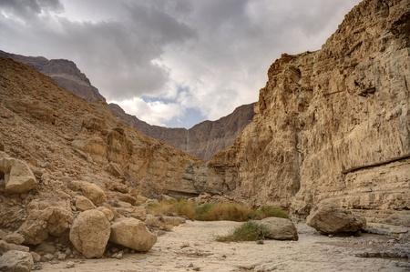 dea: Judean desert near Dead Sea  in autumn europe travel