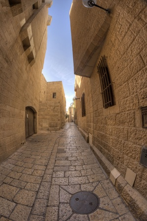 old jerusalem streets in Israel travel attraction Stock Photo - 12790654