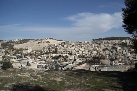 holyland: jerusalem view in Israel holy Land travel