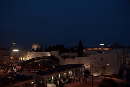 Monte del Templo vista en Israel Tierra Santa de viaje Foto de archivo - 12963710