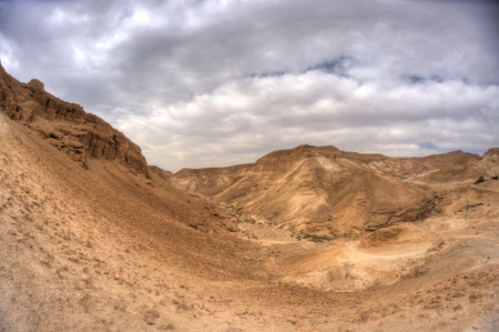 Masada fortress and king Herod photo